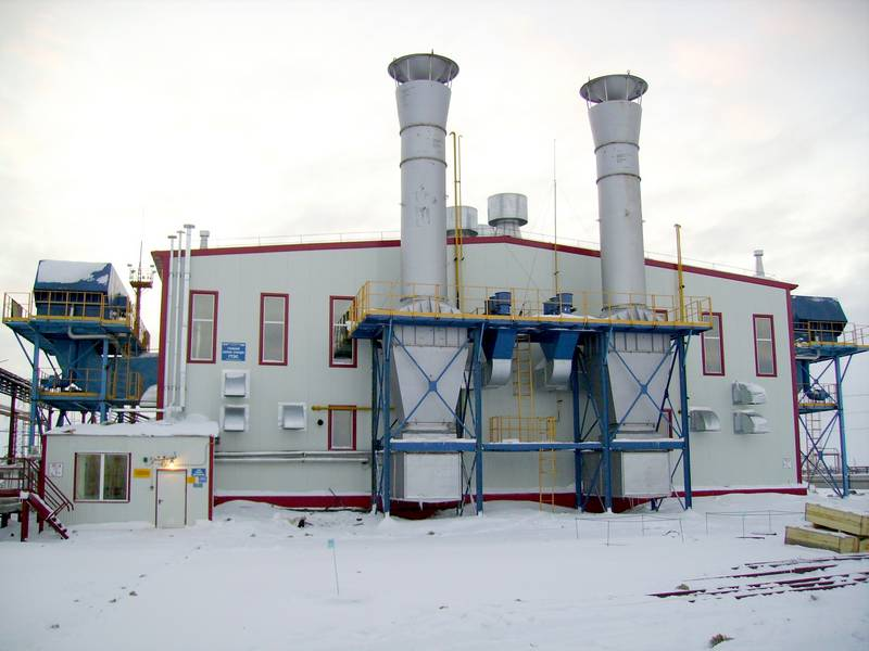 Gas turbine and gas reciprocating power plants