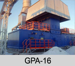 GAS COMPRESSOR EQUIPMENT GPA-16